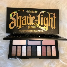 Kat Von D Beauty – Shade and Light Glimmer Palette Swatches